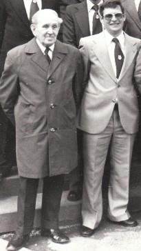 Franz Tomatzik und Helmut Klöckner