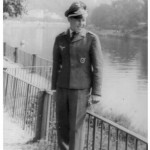 Leutnant Helmut Proff, abgeschossen in der Normandie in Frankreich