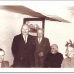 80. Geburtstag von Anna Noll, v.r. Jakobine Noll, Anna Noll