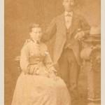 Kaufmann Johann Lappas und Ehefrau Anna geb. Schenkelberg. Das Geschäft der beiden befand sich in der Mittelstrasse im heutigen leerstehenden Haus von Paula Berg