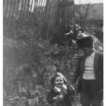 Evi Berberich geb. Kaspar mit ihrem großen Bruder Engelbert Kaspar