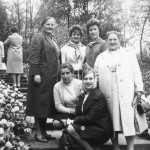 Ausflug der Frauen o.v.l.n.r stehend,  Käthe Schuster, Agnes Mockenhaupt, Anneliese Kurth, Eva Kaspar